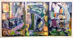 Andrea Epstein's  Still Life Triptych 4