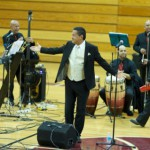 Armando Son Jimenez and his Colombian salsa band, courtesy MorristownGreen.com