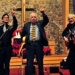 Frank Vignola, Bucky Pizzarelli and Gene Bertoncini, courtesy Daily Record
