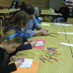 little artists at Art 4 Kids