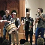 Matuto, Brazilian/bluegrass band, courtesy of Morristowngreen.com