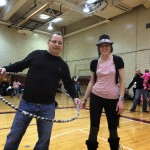 Hula hooping with Whirled Revolution, courtesy Morristowngreen.com
