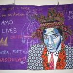 Bisa Butler's quilt, Samo Lives