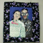 Bisa Butler's art quilt, Frances and Violette