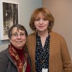 Arlene Milgram with Dodge's Elaine Rastocky