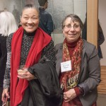artists Kiyomi Baird and Arlene Gale Milgram