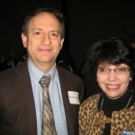 Ed Kirchdoerffer (MPAC) and Linda Morris (Morris Museum)