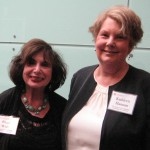 Rhoda Wolin and Kathy Hannan of awardee, The New Jersey Choral Consortium