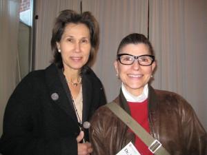 Cardiologist Dr. Audrey von Poelnitz with breast surgeon, Dr. Kathleen Ruddy