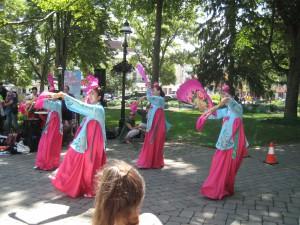 The Fan Dance