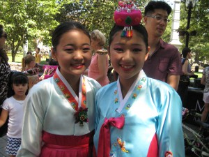Two young dancers