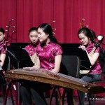 zheng player of Chinese Youth Orchestra