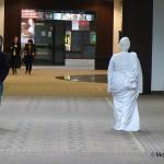 Living Statue Alissa Dirato takes a stroll