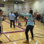 Hula hoop fun with Whirled Revolution