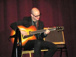 Jazz guitarist Alex Wintz performing