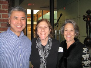 Ken Chin, Jody Marcus, Leslie Bensley