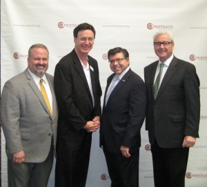 Tom Werder, Kevin O'Brien, Assemblyman Anthony Bucco and Mayor Tim Dougherty