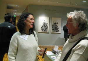 artist Thea Clark, Nancy Schaenen