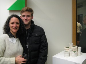 artist Thea Clark, her son and her work