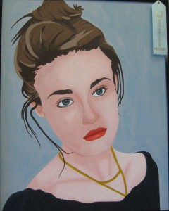 Giancarlo Venturini's acrylic, Heather