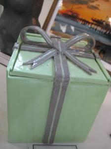 Nick Fett's earthenware clay & glaze, Mystery Gift (Jefferson Twp)