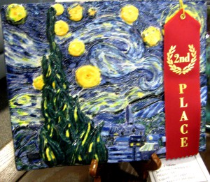Jessica Adams' earthenware Hulde van Vincent van Gogh