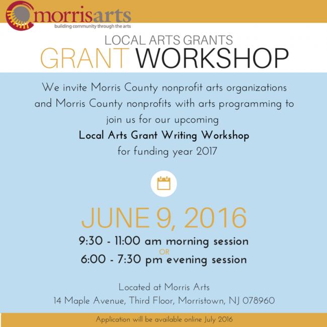 2016 Grant Writing Workshop