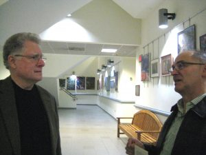 Dr. Don Siebert with Artist Ray Sicignano