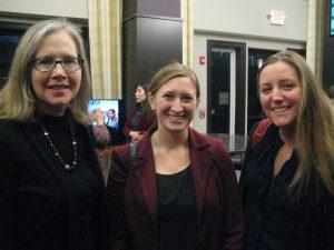Mary Eileen Fouratt (NJSCA), Abby Gallo (ED of Grow It Green) and Meghan Jambor (Dodge Foundation)