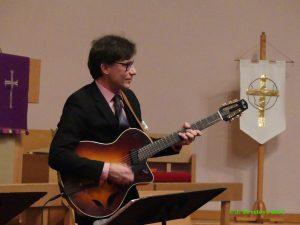 Great jazz guitarist Frank Vignola