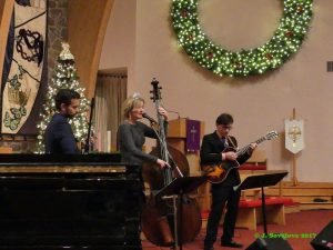 Vinny Raniolo, Nicki Parrott and Frank Vignola bring superb jazzo