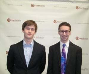 2016 Scholarship Winners Tyler Harker (Coladarci) and Zachary Catron (Ehlers)