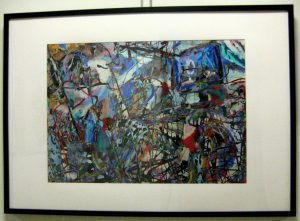 Adel Gorgy, pigment ink print, Sonnet for Love, Traces of Pollock and de Kooning