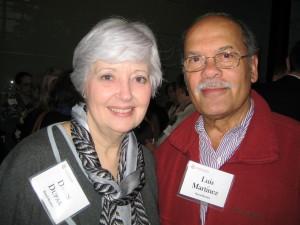 Dawn Dupak and Luiz Martinez