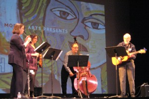 Kris Lamb, Diane Perry, Frank Sole and Hen3ry Nerenberg of Folk Project