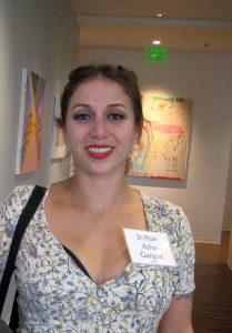 Artist Asha Ganpat