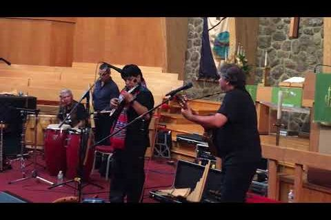 Eco del Sur performs in Morristown, July 2018